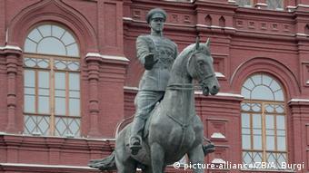 Russland Schukow Denkmal in Moskau