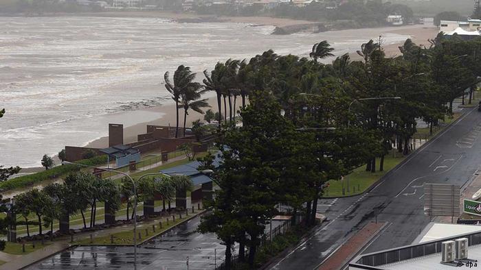 Australien Wirbelsturm Zyklon Marcia Queensland
