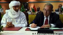 Algerien Mali Waffenruhe in Algier vereinbart Bilal Ag Acherif und Ramtane Lamamra