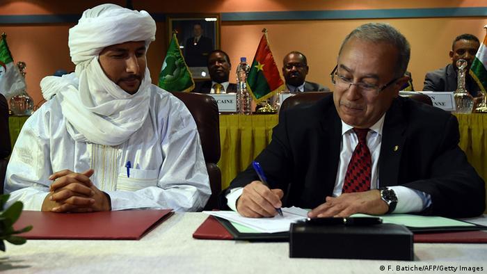 L'Algérie a parrainé la signature en 2015 des Accords de paix d'Alger