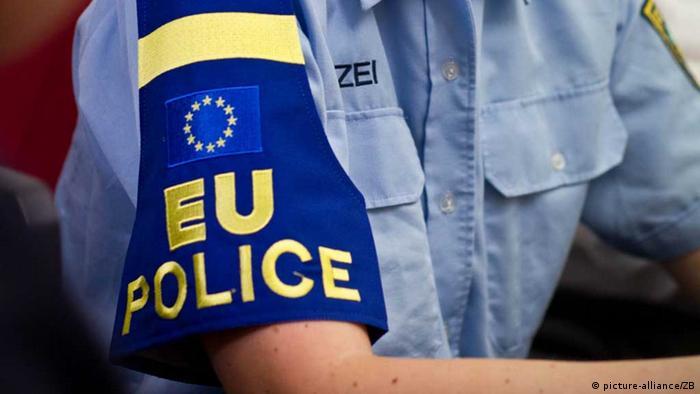 Armbinde EU-Polizei