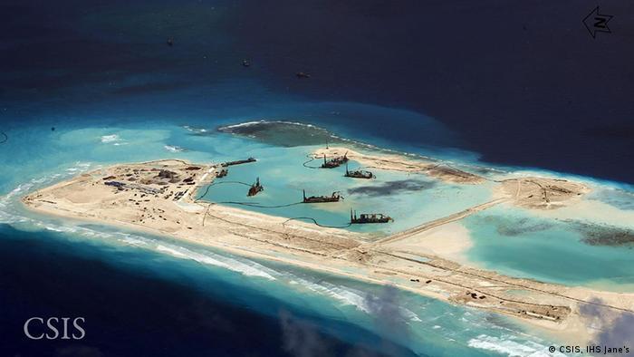 Pequim transforma Mar do Sul da China