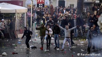 Rotterdam Hooligans in Rom