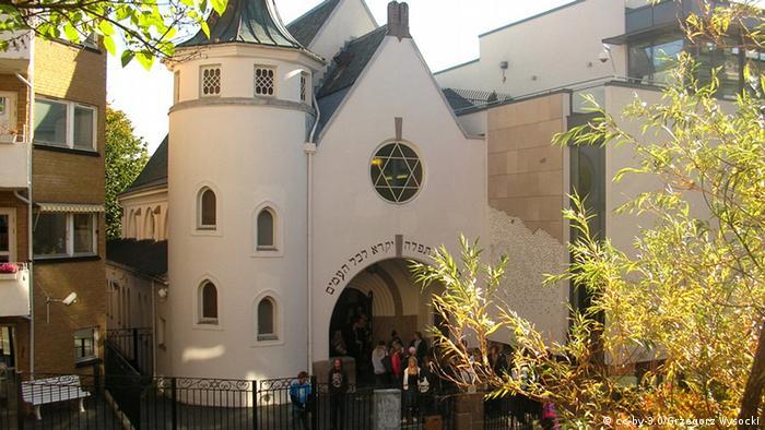 Synagoge in Oslo Norwegen Archivbild