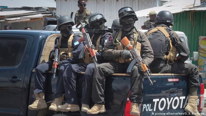 Somalia Sicherheitskräfte in Mogadischu