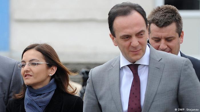 Mazedonien Sasho Mijalkov Geheimdienstchef (DW/P. Stojanov)