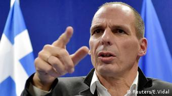 Treffen der Eurogruppen Finanzminister Yanis Varoufakis