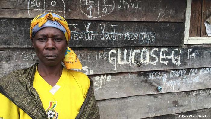 Menschen in Goma