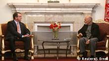 Afghanistan Ashton Carter und Ashraf Ghani