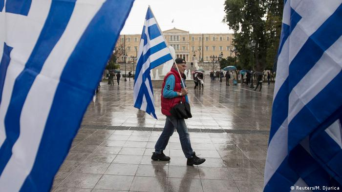 Griechenland Athen Parlament