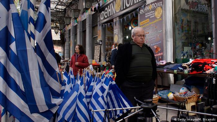 Griechenland Athen Straßenszene