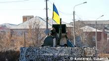 Ukrainische Soldaten in der Ostukraine