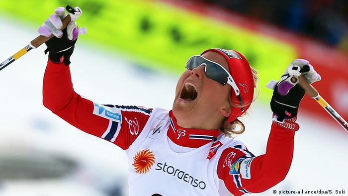 Therese Johaug Skiathlon WM