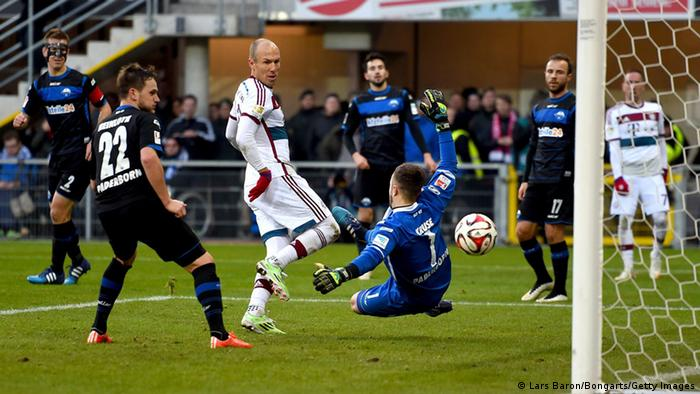 Fußball Bundesliga 22. Spieltag SC Paderborn FC Bayern München