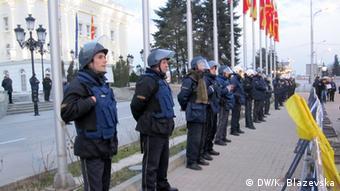 Mazedonien Skopje Proteste gegen Regierung wegen Abhörskandal