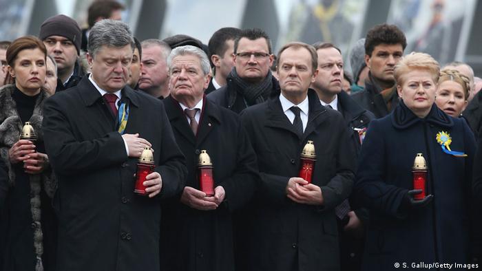У Києві пройшов Марш гідності на відзначення річниці Майдану