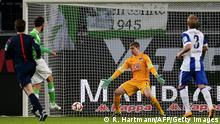Fußball Bundesliga 23. Spieltag Hertha BSC vs. VfL Wolfsburg
