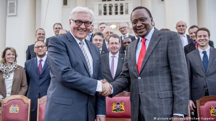 Frank-Walter Steinmeier in Nairobi