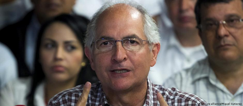 Antonio Ledezma (foto) foi preso na semana passada