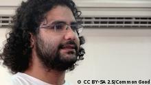 http://de.wikipedia.org/wiki/Alaa_Abd_el-Fattah Alaa Abd el-Fattah (arabisch علاء عبد الفتاح, DMG ʿAlāʾ ʿAbd al-Fattāḥ;* 1981)[1] ist ein ägyptischer Blogger und Softwareprogrammierer.