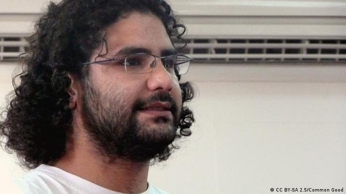 Egyptian activist Alaa Abdel-Fattah