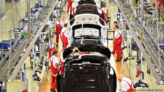 Symbolbild zu Deutschland Geschäftsklimaindex