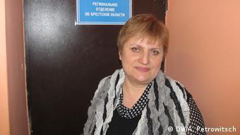 Профсоюзный лидер Зинаида Михнюк