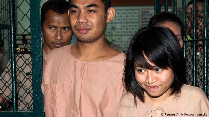 Thailänderwegen Majestätsbeleidigung zu Haft verurteilt