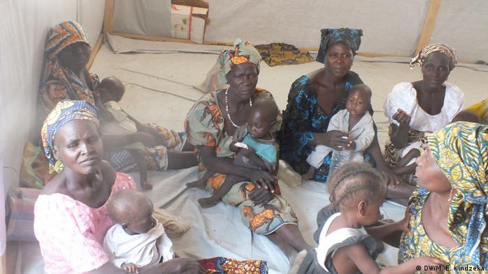 La situation humanitaire est difficile pour les femmes et les enfants