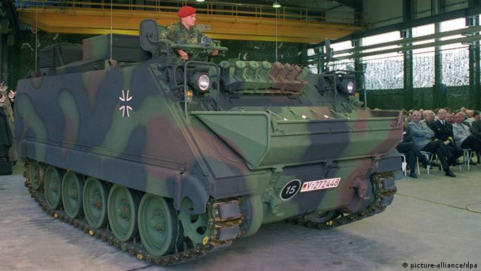 Гусеничный бронетранспортер бундесвера