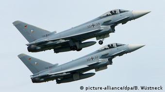 Немецкие истребители Eurofighter