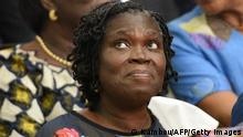 Simone Gbagbo vor Gericht (Kambou/AFP/Getty Images)