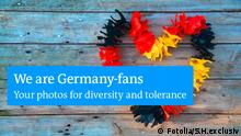 DW photo campaign: We are Germany-Fans