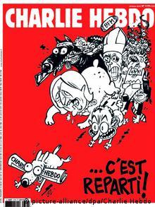 The latest Charlie Hebdo cover