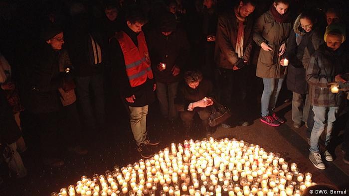 Demonstration in Pforzheim