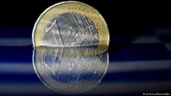 Greek euro coin Photo: Federico Gambarini/dpa