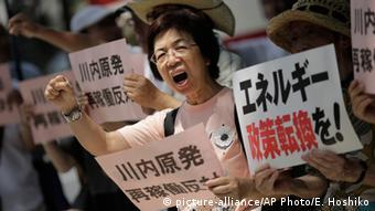 Japan anti-atom Proteste