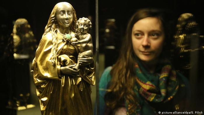 Portions of the Guelph Treasure at the Bode-Museum in Berlin, Copyright: Stephanie Pilick/dpa