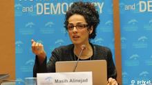Masih Alinejad in UN