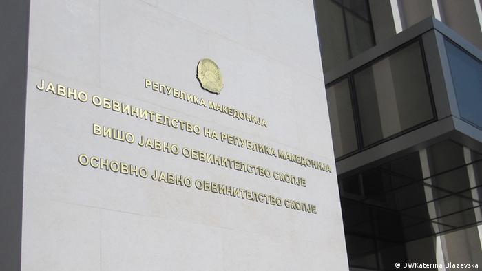 Staatsanwaltschaft in Skopje