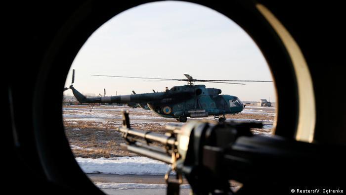 Украинская армия под Харьковом, февраль 2015 года