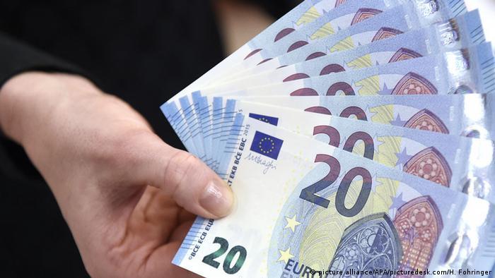 Neue 20-Euro-Banknote