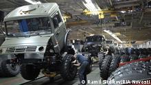 Daimler Kamaz Werk in Russland