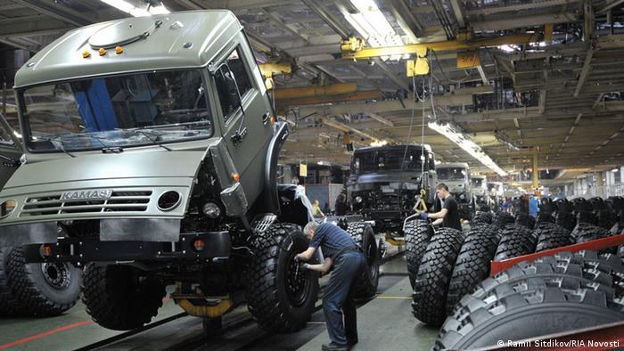 СП Daimler и КамАЗа в России