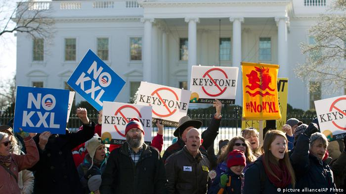 Keystone XL Pipeline Protest (picture alliance/AP Photo)