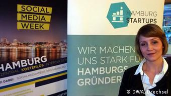 Deutschland Social Media Week Hamburg - Sina Gritzuhn