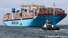 Dänemark Maersk Mc-Kinney Moller Containerschiff