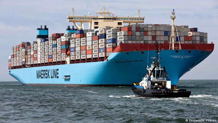 Brod kompanije Maersk Mc-Kinney Moller