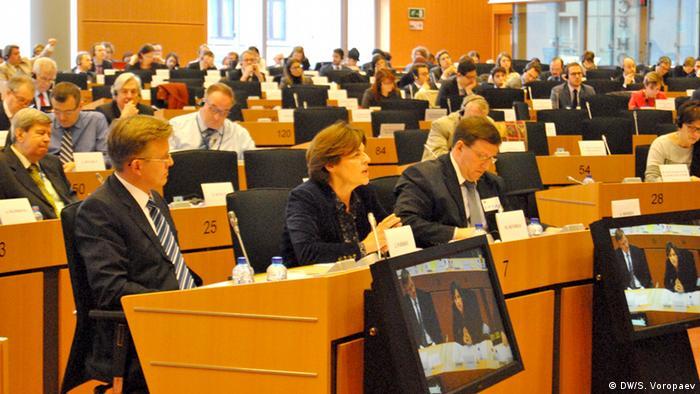 Пленарне засідання Європарламенту (фото з архіву)