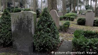 Cemetery in Delmenhorst, Germany
